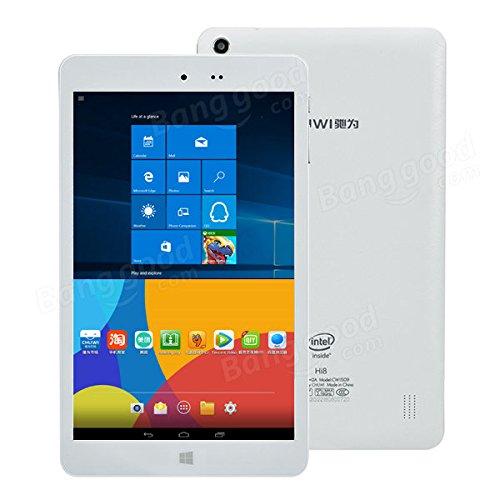 tablet dual boot Moppi Chuwi Hi8 intel z3736f quad core da 8 pollici tablet dual boot