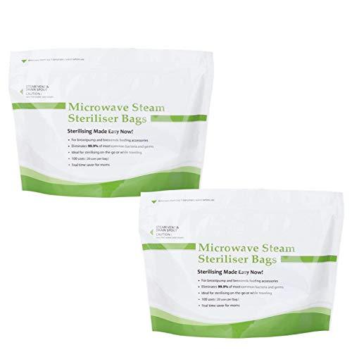 Bolsa de esterilización liviana, mata rápidamente la bolsa de esterilización de pezones Tacteria