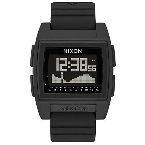 Nixon Herren Digital Chinesische Automatik Uhr mit Kunststoff Armband A1282-000-00