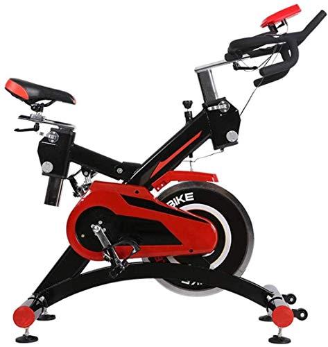 YXYY Bicicleta estática Vertical Entrenamiento aeróbico Fitness Cardio Bike Ciclismo Manillar Ajustable Resistencia del Asiento Monitor Digital Sensores de frecuencia cardíaca Bicicleta de Fitnes