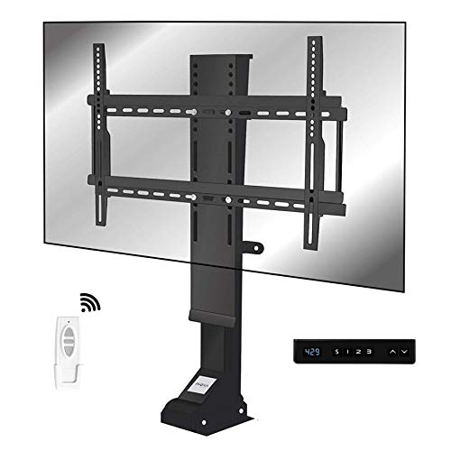 I-NOVA TV-Halterung, motorisiert, Aufzug für Fernseher, 32 – 70 Zoll, TV-Lift 82 mm, X8S, Positionsspeicher, Ultra-20 leise, Silencio+, Tragkraft 70 kg