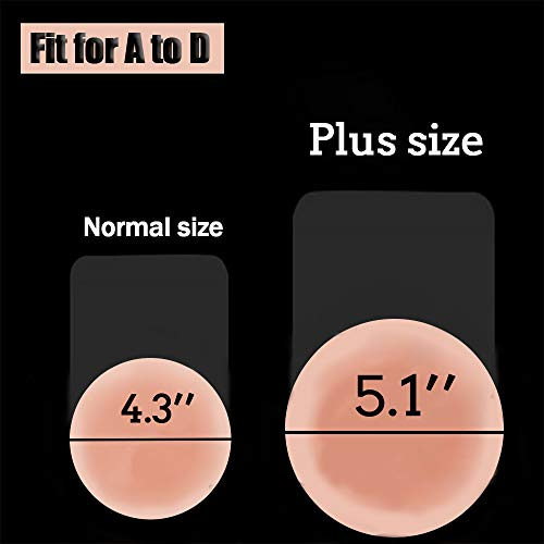 Dealswin Adhesive Silicone Pasties Sticky Bra Product Image