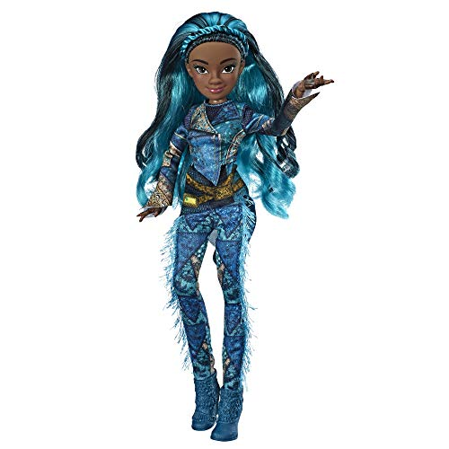 Disney Descendants Uma Fashion Doll, Inspired by Descendants 3, Brown