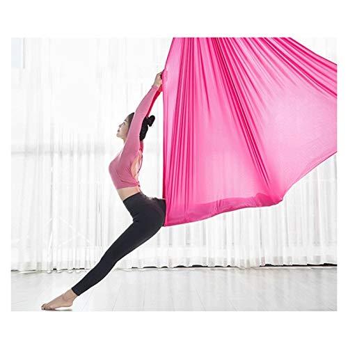 Columpio sensorial Aéreo de yoga hamaca Aéreo yoga Swing Swing Aéreo Yoga Hamaca Trapeze Anti-Gravedad Flying Swing para gimnasio Home Fitness Cargar 600kg Flexibilidad y fuerza central mejoradas