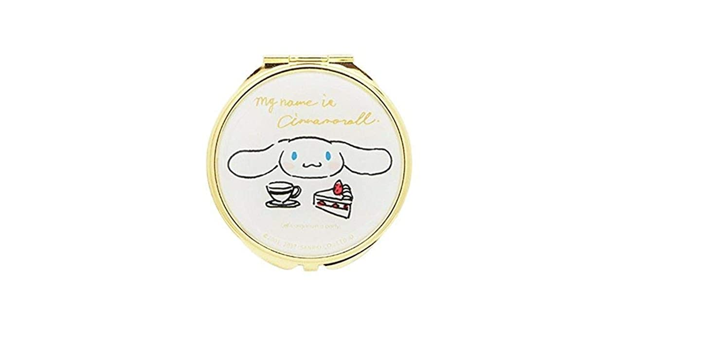 香りトラクター懐(メイクメリー) Make Merry 手書きミックスSANRIOコンパクトミラー 86894