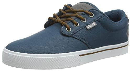 Etnies Jameson 2 Eco, Zapatillas de Skateboard para Hombre, Azul (Navy/Grey/Silver 490), EU 37