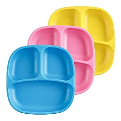 Replay Recycled ecofriendly baby plates toddler plates kids divided plates