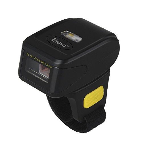 Eyoyo Portable QR Bluetooth Escáner de código de Barras inalámbrico 1D 2D Mini Lector de código de Barras Soporte Scan PDF417 Data Matrix