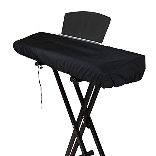 Funda Teclado 88 Teclas Funda Piano Yamaha Funda Protectora Elástica para Piano Digital Casio Yamaha Roland (Negro) (88 Teclas)