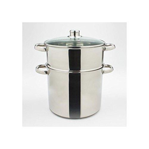 Trend'up - Couscoussier inox 22 cm 6 litres