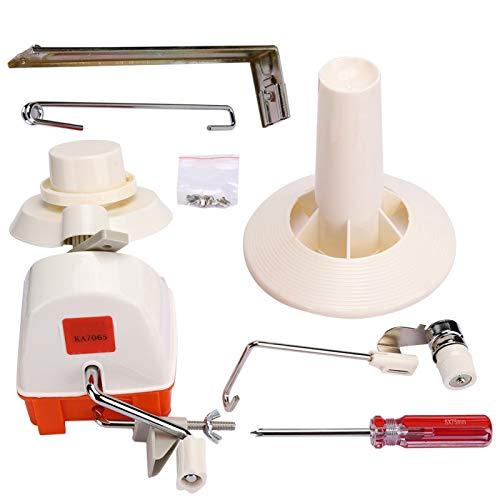 Enrollador de hilo, fácil de usar, multifunción, accesorios de costura de hilo para el hogar, perfecto para uso doméstico,