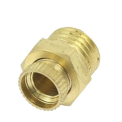 Entwaesserungsventil - TOOGOO(R) Metall-Aussengewinde Entwaesserungsventil fuer Druckluftkompressoren