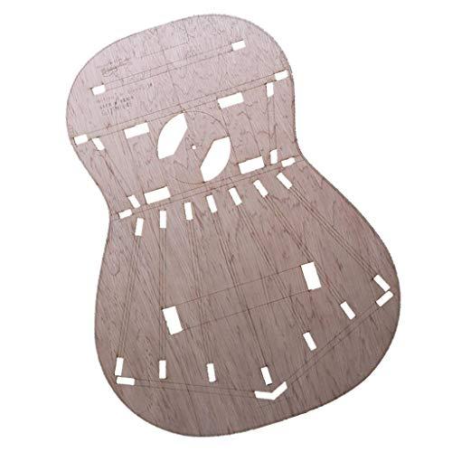 Plantillas De Diseño Corporal De Guitarras DIY Plantillas De Construcción De Guitarra Premium Para Torres 1 Guitarras Clásicas