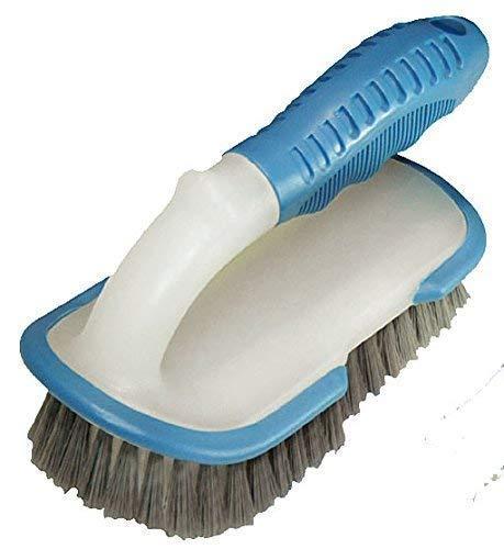 well2wellness® stabile Pool Reinigungsbürste Handbürste Profi mit Griff und verstärkten Borsten