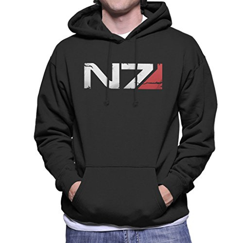 Cloud City 7 Mass Effect N7 Armour Men's Hooded Sweatshirt