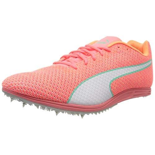 PUMA Evospeed Distance 8 Wn, Scarpe da Atletica Leggera Donna, Rosa (Ignite Pink White-Green Glimmer), 39 EU