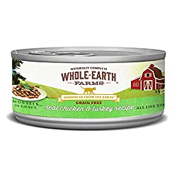 Whole earth farms grain-free morsels in gravy cat food