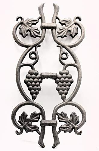 UHRIG ®Ornament Weinrebe schmiedeeisen Eisenguss für Zaun Geländer Fenstergitter #630