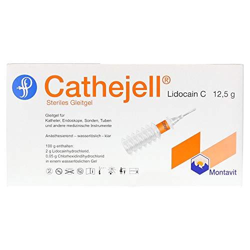 CATHEJELL Lidocain C steriles Gleitgel ZHS 12,5 g 5 St