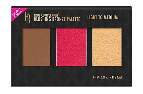 Black Radiance True Complexion Blushing Bronze Palette, Light to Medium, 0.38 oz
