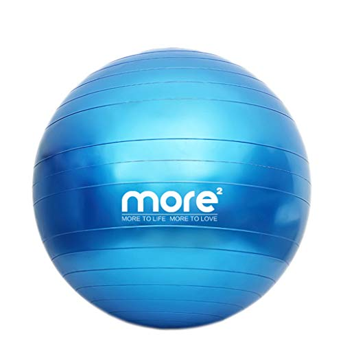 TONG Bola de Yoga Bola de Fitness Bola de Yoga Engrosada A Prueba de explosiones Las Mujeres Embarazadas Principiantes Pueden Usar Midwifery Yoga Bola Adelgazante Forma (Color : E, Size : 65CM)