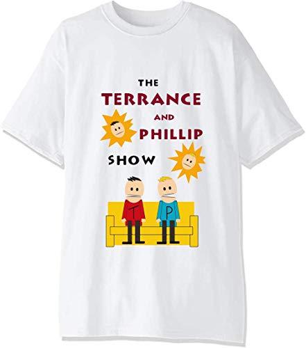 T-shirt pour homme avec personnages de la série télévisée « Favorite » - Blanc - Medium