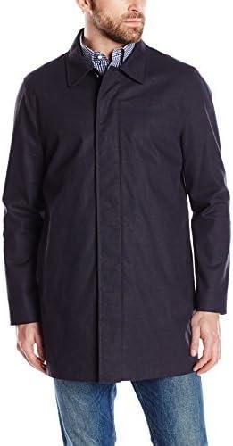 Tommy Hilfiger Men's Foley Fly Front Rain Jacket