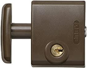 Abus FTS 3002 B EK - Cerrojo de presión para ventana o puerta corredera marrón: Amazon.es: Bricolaje y herramientas
