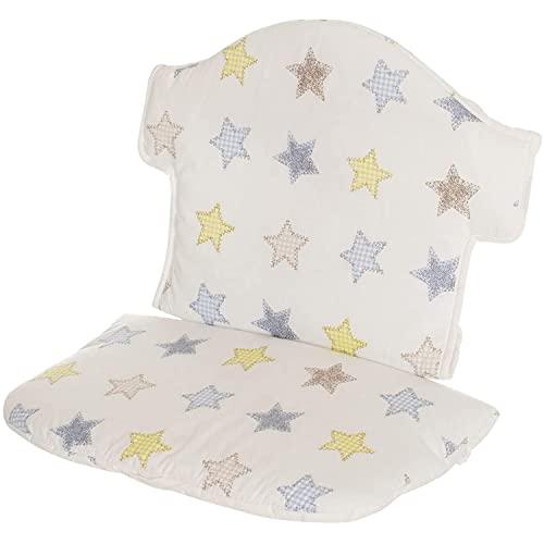 Geuther -Sitzverkleinerer 4743 für Hochstuhl Swing, aus Stoff, Sterne