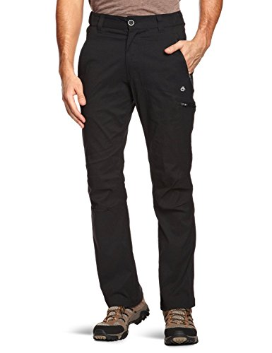Craghoppers Kiwi Pro Action Pantaloni, Uomo, Nero, (56 EU) 40 UK - Regular