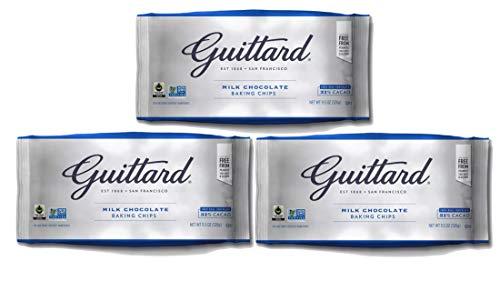 Guittard Milk Chocolate Baking Chips 11.50 OZ (Pack of 3)