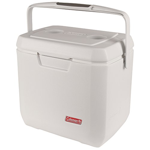 Coleman Coastal Xtreme Series Marine Portable Cooler, White, 120 Quart