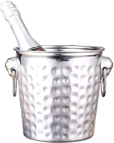 Bicchieri per feste Eventi Secchiello per ghiaccio in acciaio inossidabile Barilotto di champagne...