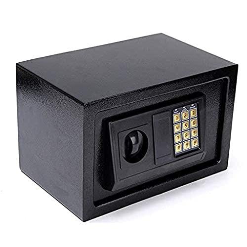 Caja fuerte de seguridad mejorada, cajas fuertes con contraseña, caja fuerte electrónica digital Caja fuerte de seguridad para oficina en el hogar pequeña con cerradura digital Caja fuerte para gabine