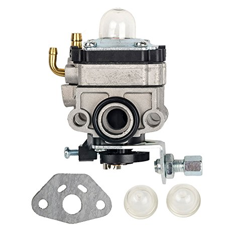 Bijenkorf Filter Carburateur met Primer Lamp + Pakking voor Honda GX31 GX22 FG100 Little Wonder Mantis Tiller Carb 16100-ZM5-803