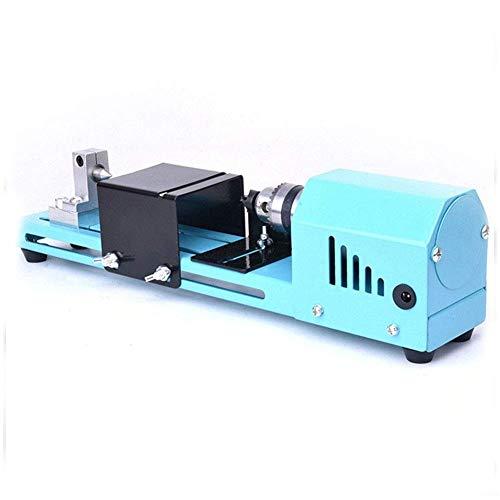 Guajave 150W Mini Torno Cuentas Pulidora Máquina Bricolaje CNC Mecanizado para Mesa Carpintería Madera Herramienta Bricolaje