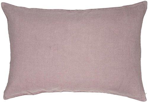 IB Laursen - Kissenhülle, Zierkissen, Kissen - 40 x 60 cm - Farbe: Malva, rosa - 100% Leinen - ohne Füllung