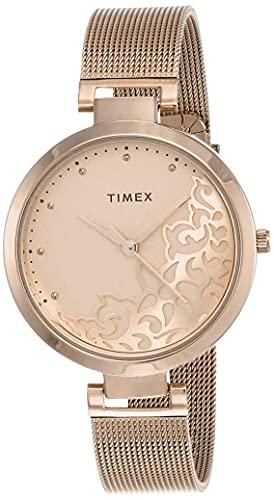 Timex Analog White Dial Women's Watch-TW000X219