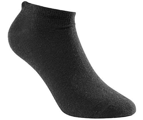 Woolpower Liner Chaussettes courtes – Chaussettes légères 36-39 Noir