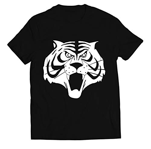 Colorfamily Tshirt Uomo Tigre - Maschera - Anni 80