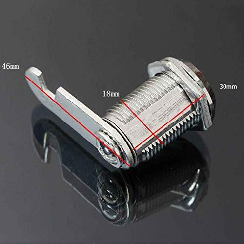 wufeng Tür-Kabinett-Schrank Kommode Workbox Toolbox Schublade Locker Strongbox Brief Game Box Key Drehen Cam Schließzylinder