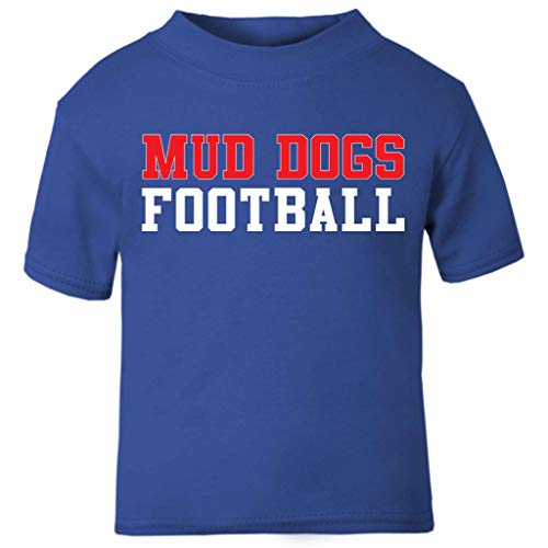 Cloud City 7 Mud Dogs Football The Waterboy Baby and Toddler Short Sleeve T-Shirt