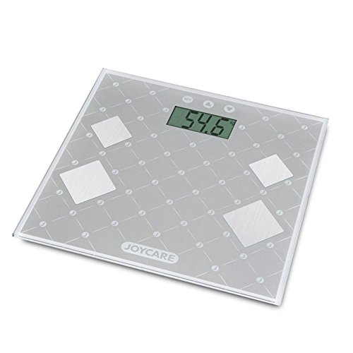 Joycare jc-1418Báscula Body Fat/Body Water, Plata