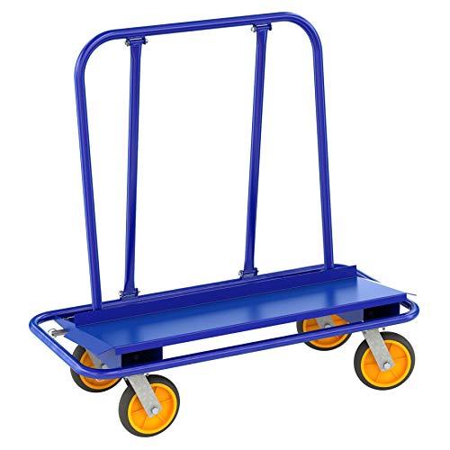 Bon Tool 84-914 Drywall Cart 4 Swivel 2 Lockingnon-Marking Casters