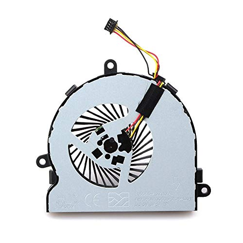 CPU Cooler 4 Pin Connector Cooling Fan for Computer Case CPU Cooler Radiator Computer Accessories Compatible with HP 15-AC Notebook Cooling Fans Computer Accessories