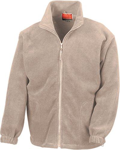 Active Fleece Jacke mit durchgehendem Reißverschluss XXL,Natural