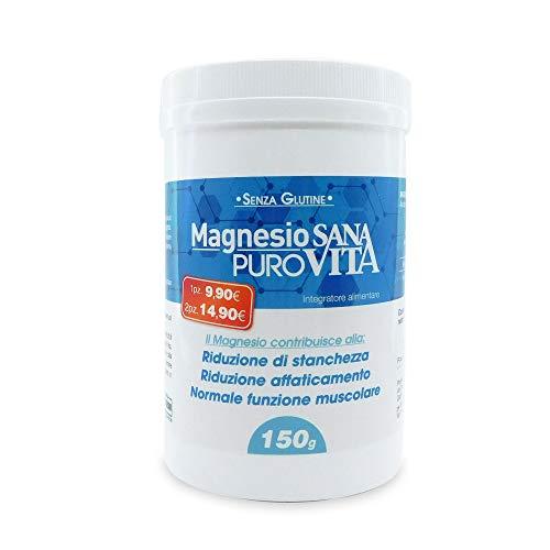 Sanavita 50084 Magnesio Puro, Blu- 150 G
