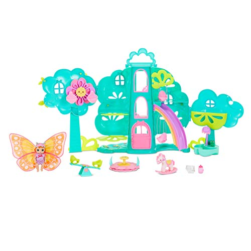 Baby Born Surprise Treehouse Playset & Baby Doll w/ Glittery Butterfly Wings  $14 at Amazon