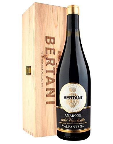 Amarone della Valpolicella Valpantena DOCG Bertani 2018 0,75 ℓ, Cassetta di legno