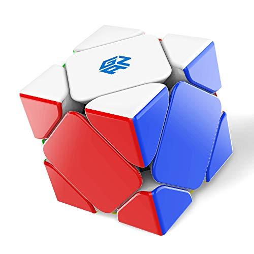 GAN Skewb, 8 Imán Cubo de Velocidad Cubo Magico Puzzle Juguete Rompecabezas
